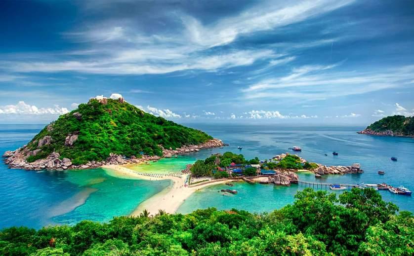 เกาะนางยวน, Insel Tau, ประเทศไทย