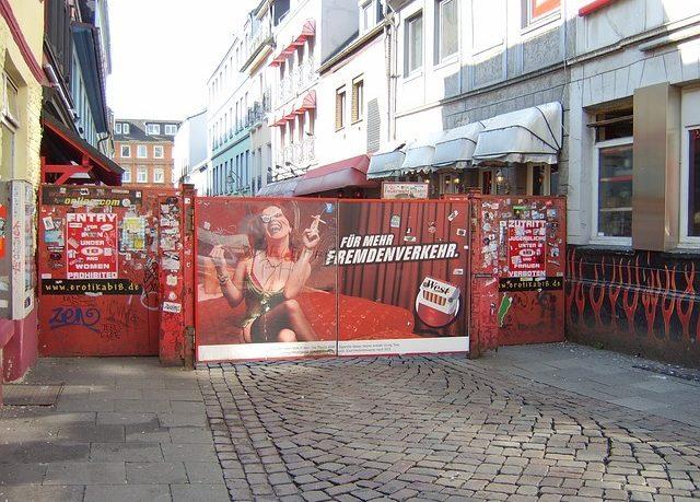 Münhendə fahişəxana: Münhendə cinsi əlaqələndirici