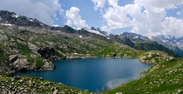 Tskhvandiri Lakes