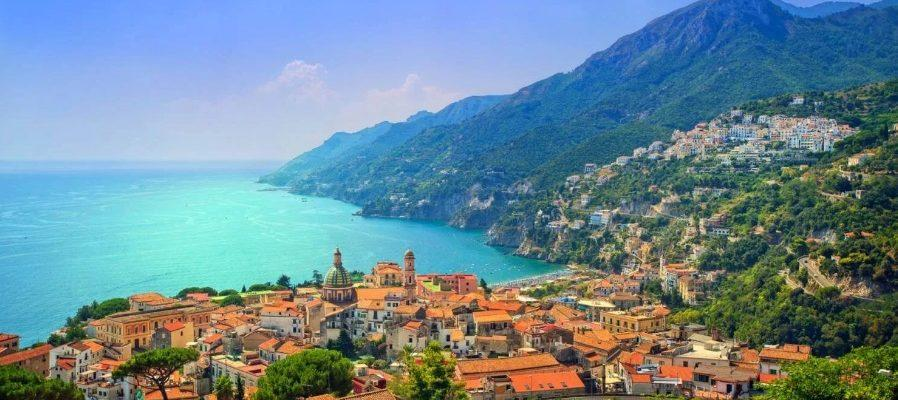 Sea coast of Italy