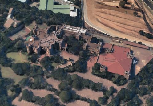 Kyalami Castle from above