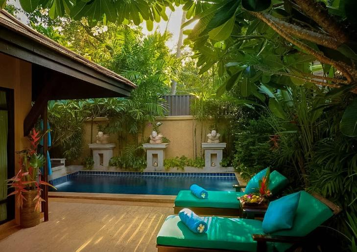 Private villa with pool in Bo Phut Resort and Spa